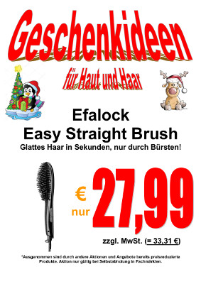 Weihnachten Easy Straight Brush